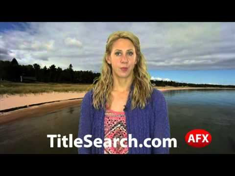 Property title records in Jackson County Michigan   AFX