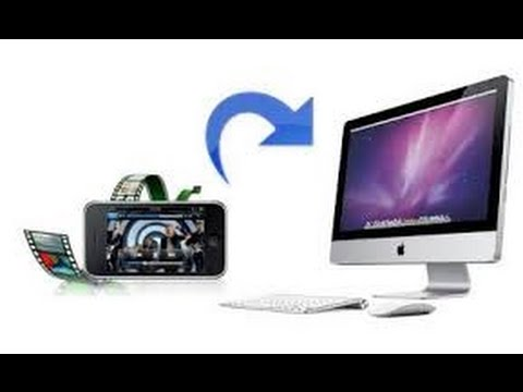 How to Transfer A Video from an iDevice to a Mac FOR FREE NO JAILBREAKING