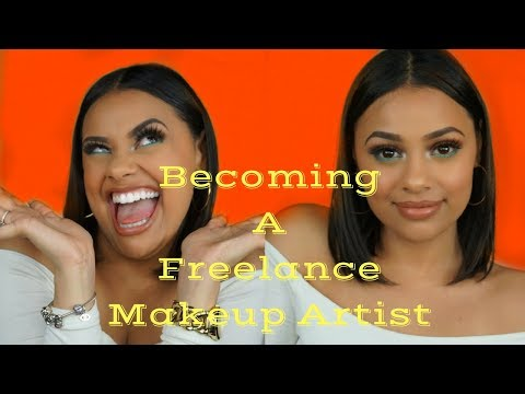 How To: Become A Freelance Makeup Artist (Beginners) | Evette Santos