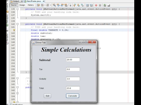Easy Java GUI: Easy Java Calculations