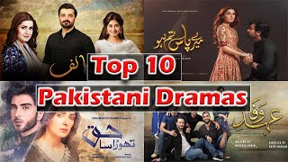 Top 10 Pakistani Dramas That you must watch in 2020