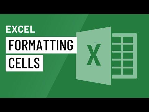 Excel 2016: Formatting Cells