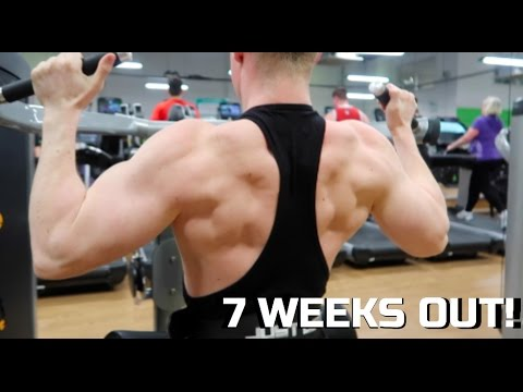 Back Workout for Wider Lats! | Physique Update | 7 Weeks Out