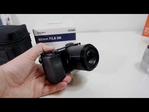 Sigma Art 60mm DN F/2.8 Prime Lens Review Sony E Mount / MFT
