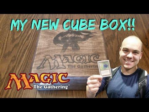 My New MTG Cube Box!!!