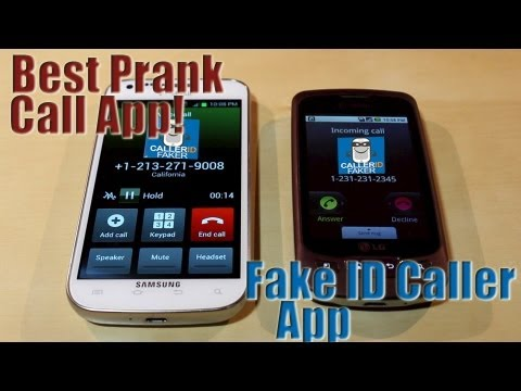 How to Call Someone As A Different Number | Fake IDCaller App Reviewer