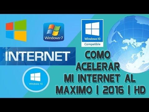 Acelerar el Internet al máximo cable o wifi 2017 (efectivo) (Solución Final)