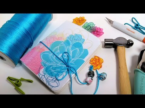 How to Make a Planner/Sketchbook/Journal & Shrink Plastic Charms