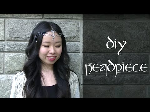 How to Make a Headpiece / Circlet with wire