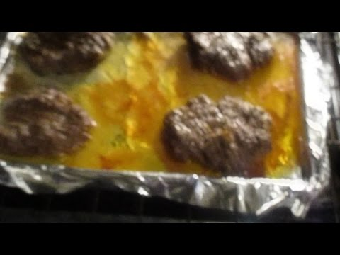 Easy Baked Burgers Tutorial