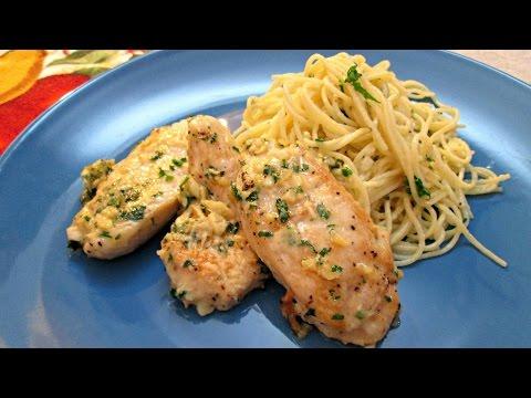 Garlic Parmesan Chicken - Easy Recipe with Fresh Ingredients - PoorMansGourmet
