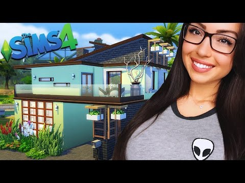 The Sims 4 - BUILDING OUR FIRST HOUSE!! SIMS 4 Gameplay, Episode 2! (Sims 4 Gameplay)