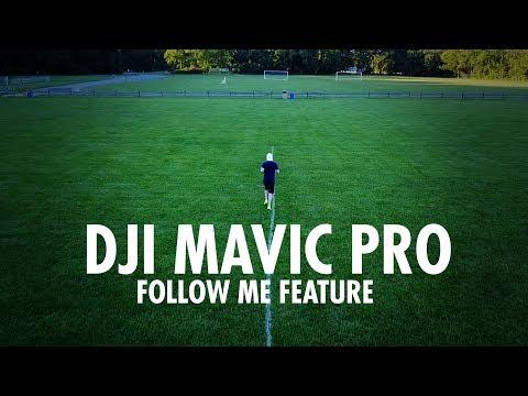 DJI MAVIC PRO - Active Tracking