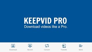 KeepVid Pro Review.