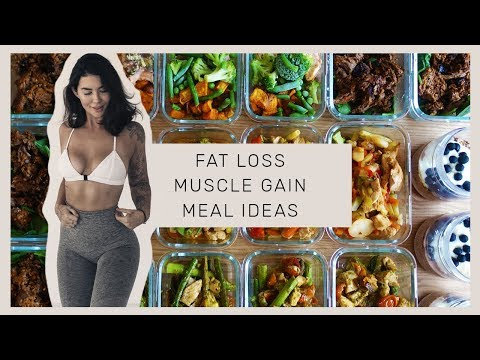 MEAL PREP WITH ME - Easy & Fast - High Protein Meals for Fat Loss