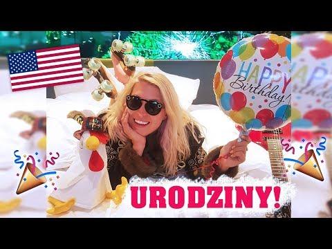 🎉Moje urodziny w USA! Poznałam gwiazdę i jadłam darmowe żarcie 😂  Agnieszka Grzelak Vlog