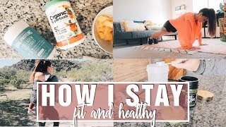 How I Live a Healthy Lifestyle as a Mom | What I Eat, Workouts, Supplements