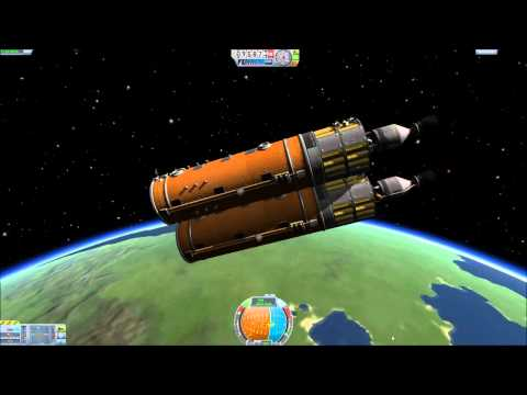 KSP-Space Race #7-Building a Space Ship (Part 1)