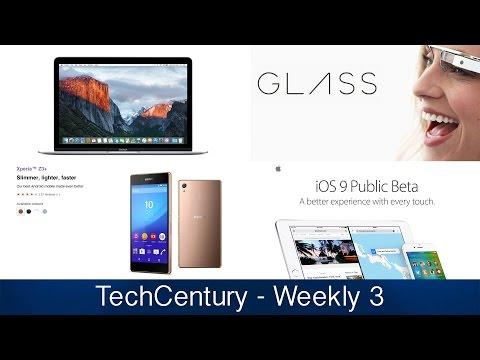 iOS 9 Public Beta/ Xperia Z5/ BlackBerry Android Smartphone/ New Google Glass Version