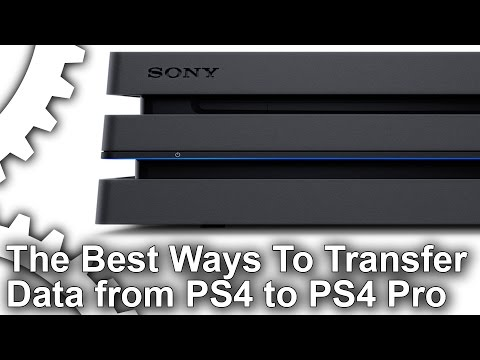 How To Transfer PS4 Hard Drive Data To PS4 Pro