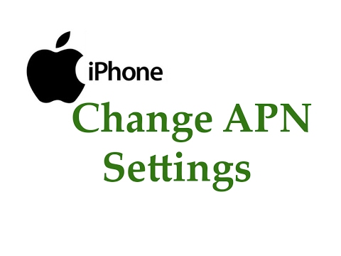 Simple Trick Change Iphone APN Settings Support all IOS Versions