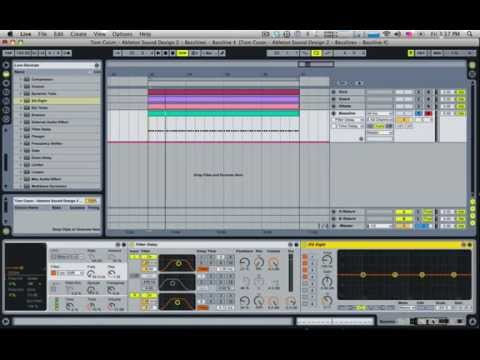 How to make a Full On Psy bassline (Ableton Live)