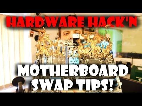 PC Motherboard Swap Tips