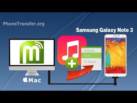 [Galaxy Note 3 Manager: Mac] How to Create Playlist on Samsung Galaxy Note 3 on Mac?