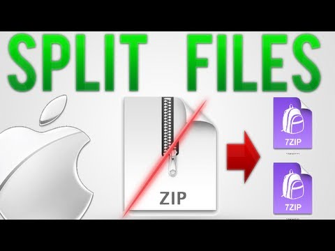 How to: Split files into parts on Mac (Free)