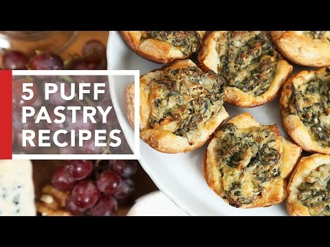 5 Puff Pastry Recipes | Quick & Easy Appetizers