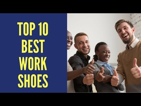 10 Best Work Shoes 2017 Reviews || Best Work Shoes For Men & Women