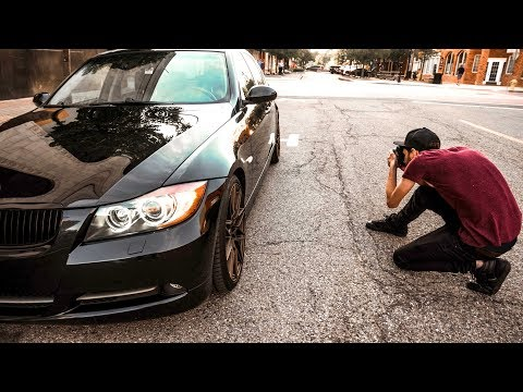 How I Take Photos of My Car | CHEAP CAMERA CHALLENGE