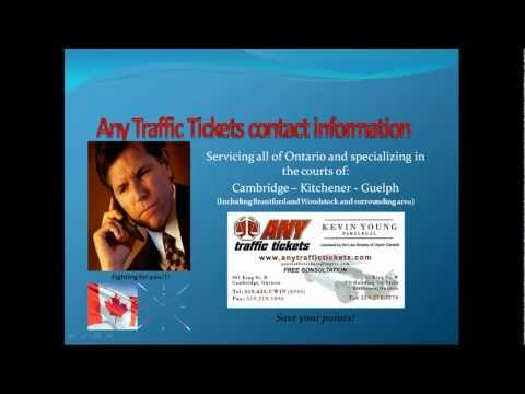 Ontario traffic ticket defence - Careless driving