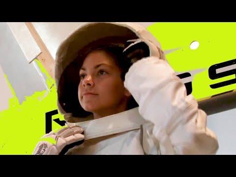 Meet trainee astronaut Alyssa Carson!