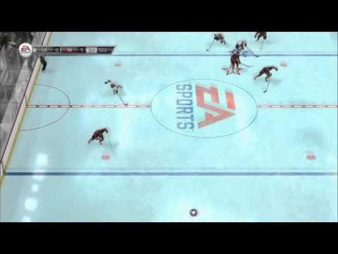 NHL 14: First Goalie Goal!