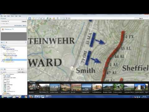 GE Map Overlay
