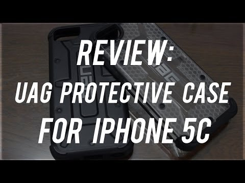 Review : UAG Protective Cases For iPhone 5C
