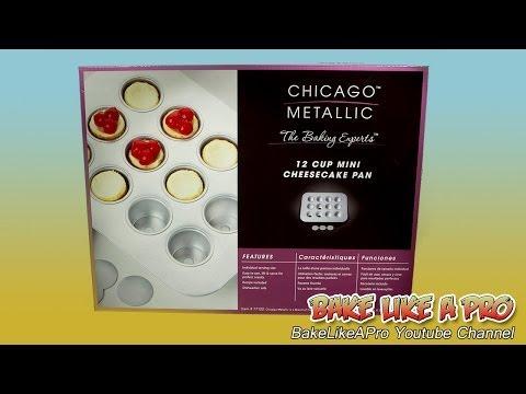 Mini Cheesecake Pan unboxing - Chicago Metallic