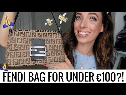 HOW TO SCORE A FENDI BAG FOR €100 👜 VINTAGE DESIGNER BAG REVEAL | CIARA O DOHERTY