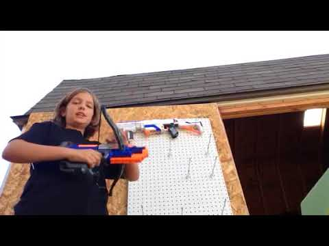 How to Build a Nerf Wall