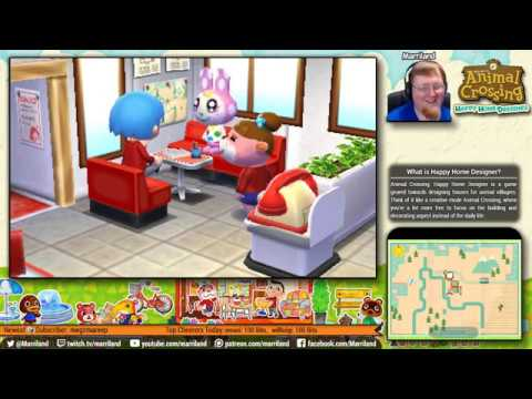 Animal Crossing: Happy Home Designer • Chrissy's House • August 22 • (STREAM ARCHIVE)