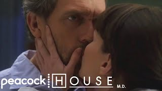 House and Cameron Kiss For The First Time | House M.D.