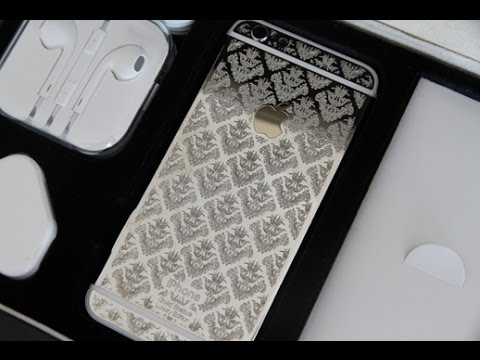 Luxury Edition Platinum iPhone 6 with Engraving