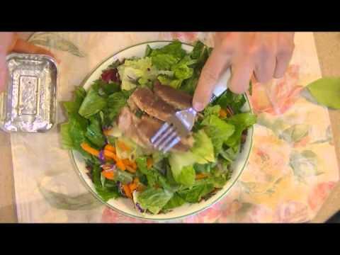 HOW I LOST 80 POUNDS EATING SARDINES salad lemon olive oil (PALEO STYLE DIET recipe GLUTEN FREE)