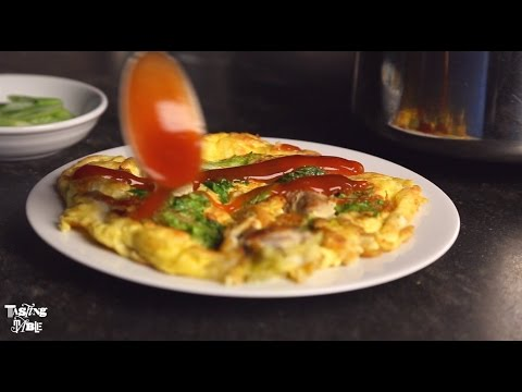 Cathy Erway's Taiwanese Oyster Omelet