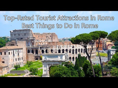 My trip to Rome and Top-Rated Tourist Attractions in Rome / Best Things to Do in Rome