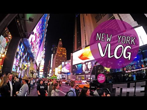 NYC VLOG | Day 2 - Central Park Zoo, Times Square and More