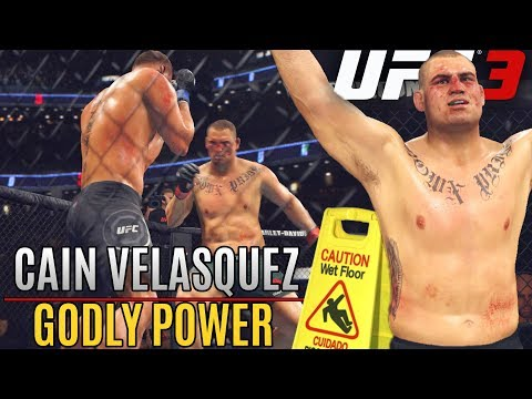 Cain Velasquez Will DROP You Like A Wet Floor! EA Sports UFC 3 Online Ranked Gameplay