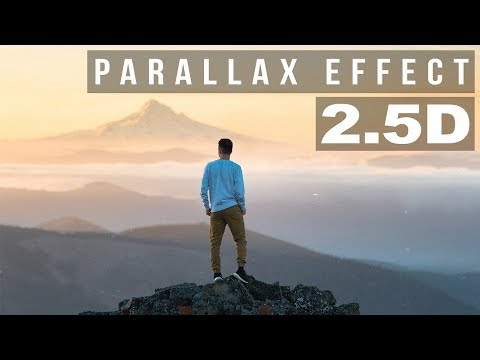 Photoshop Tutorial: Parallax Photo Effect