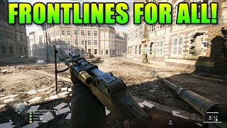 Frontlines For All!   Battlefield 1 CTE Update